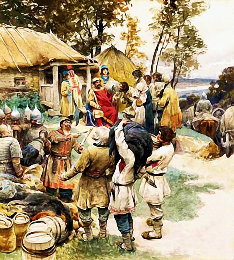 Нравы и обычаи восточных славян