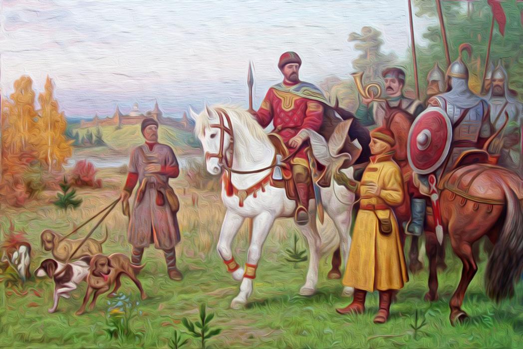 Давид Игоревич и Василько Ростиславич