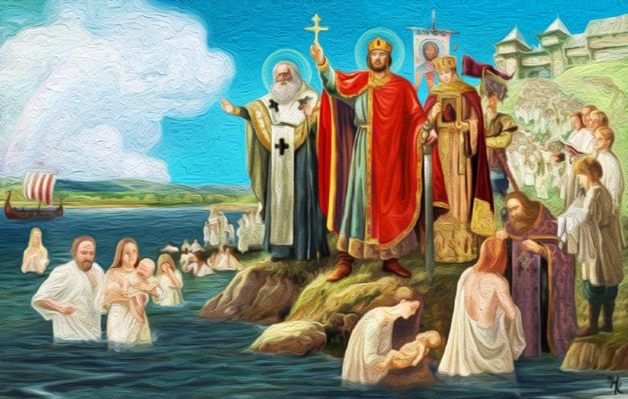 Крещение Руси при князе Владимире