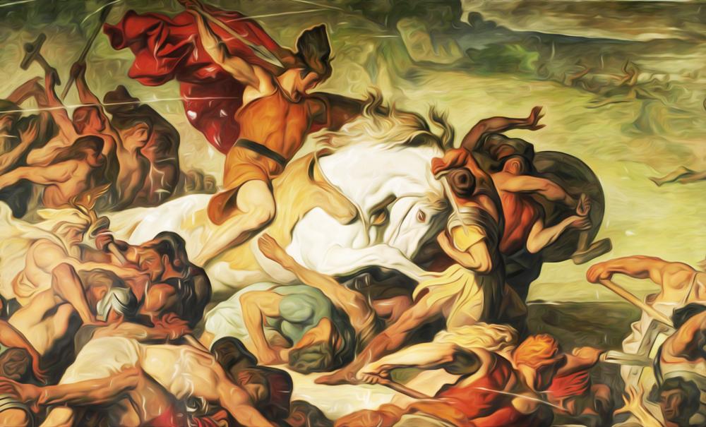 Романцы, германцы и греки