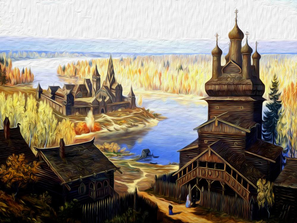 Земля и население Руси